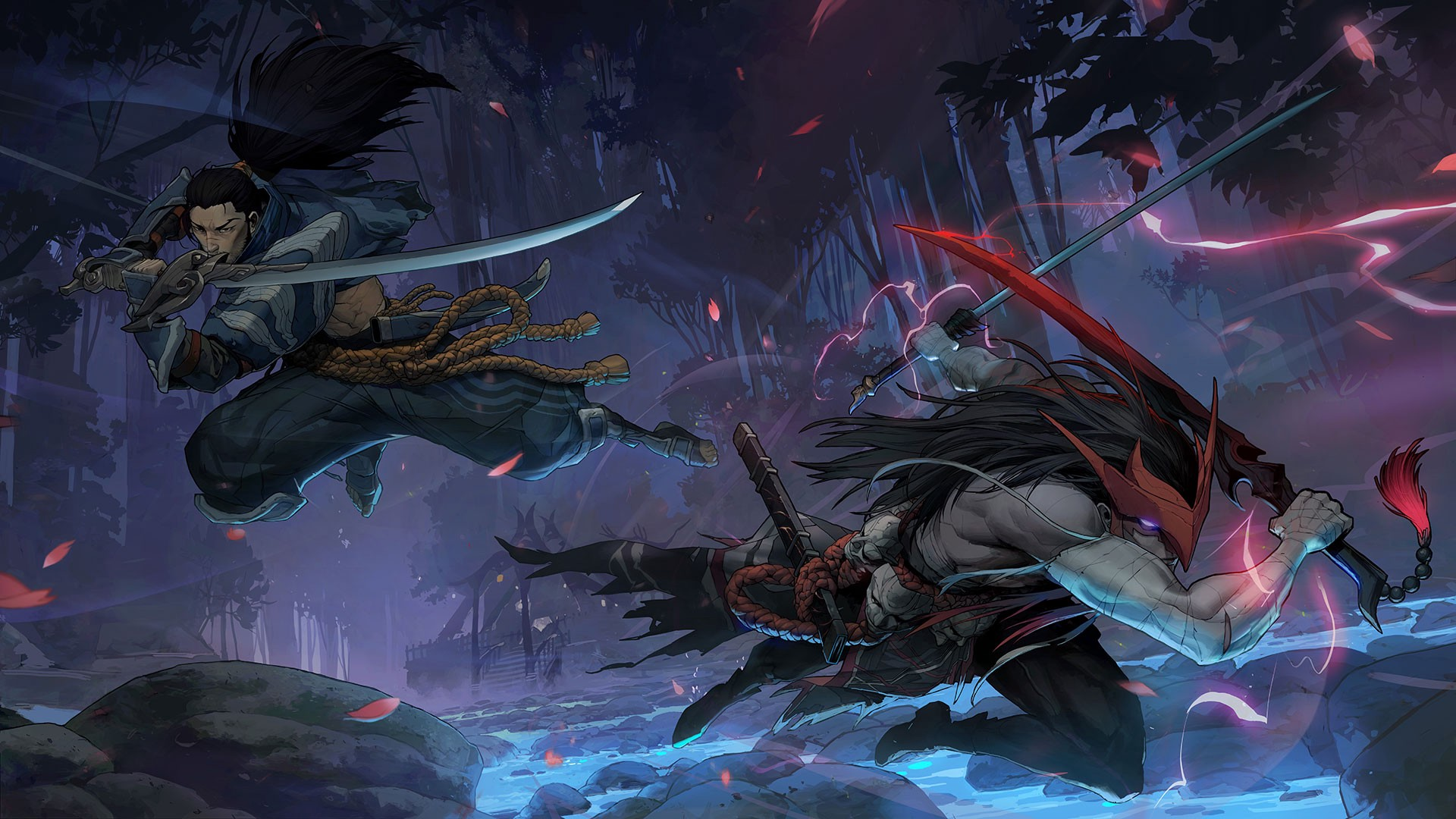 New League of Legends champion Yone and his abilities revealed.