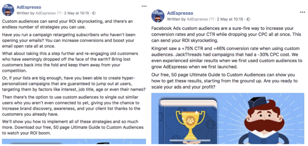 Facebook advertising for conversational commerce 8