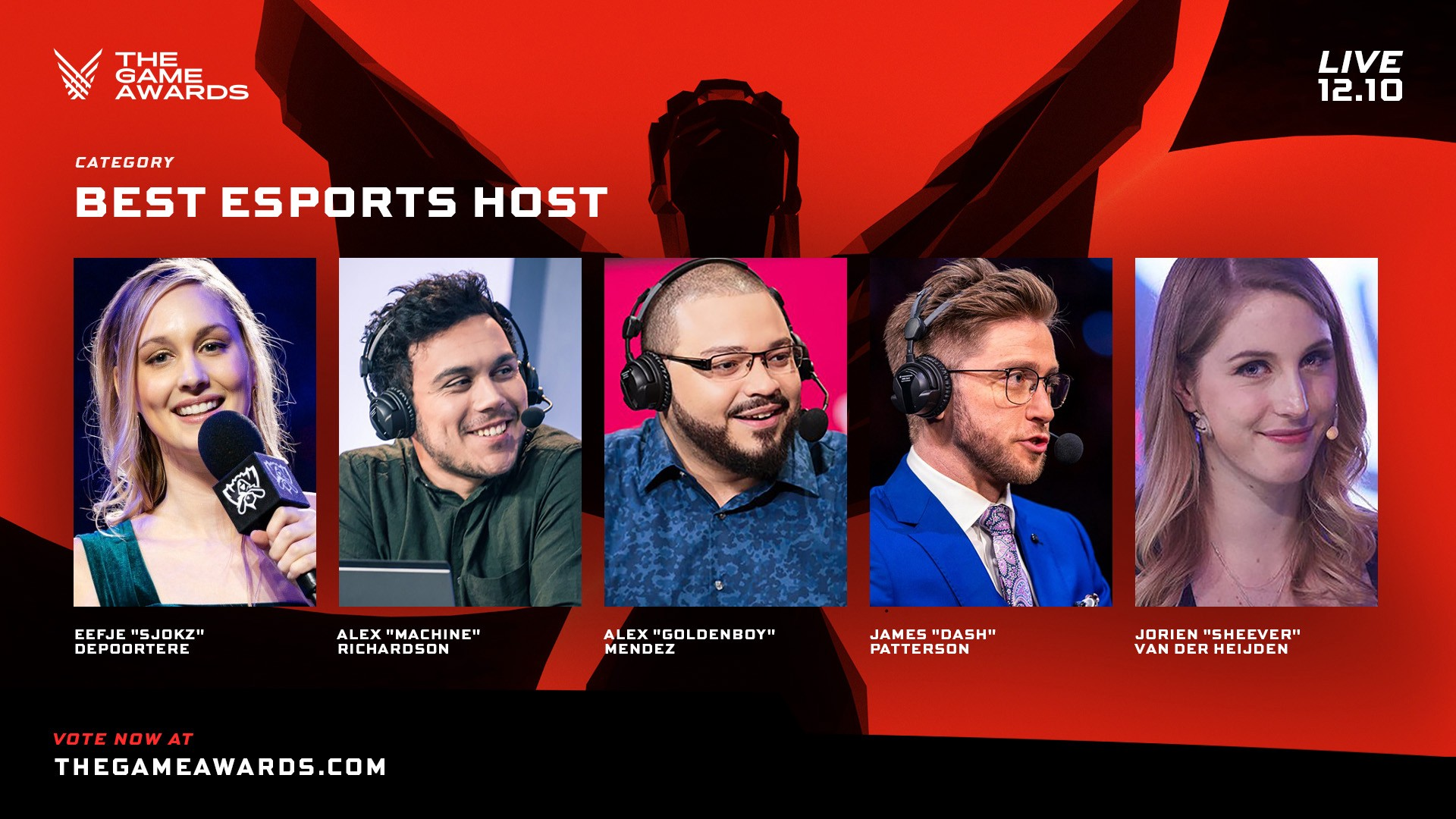 Best esports host at The Game Awards