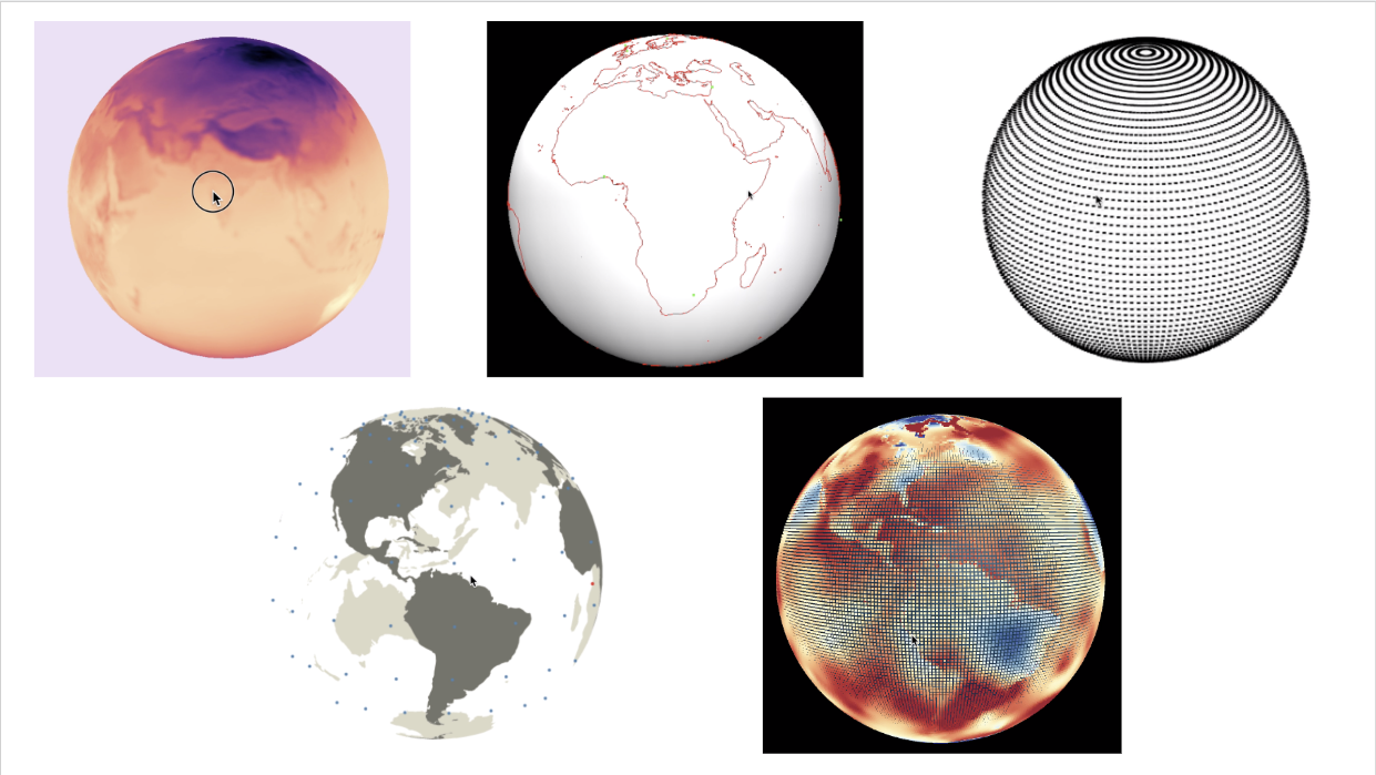5 different approaches to rendering a 3d globe