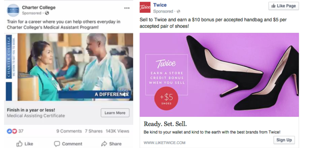 Facebook advertising for conversational commerce 6