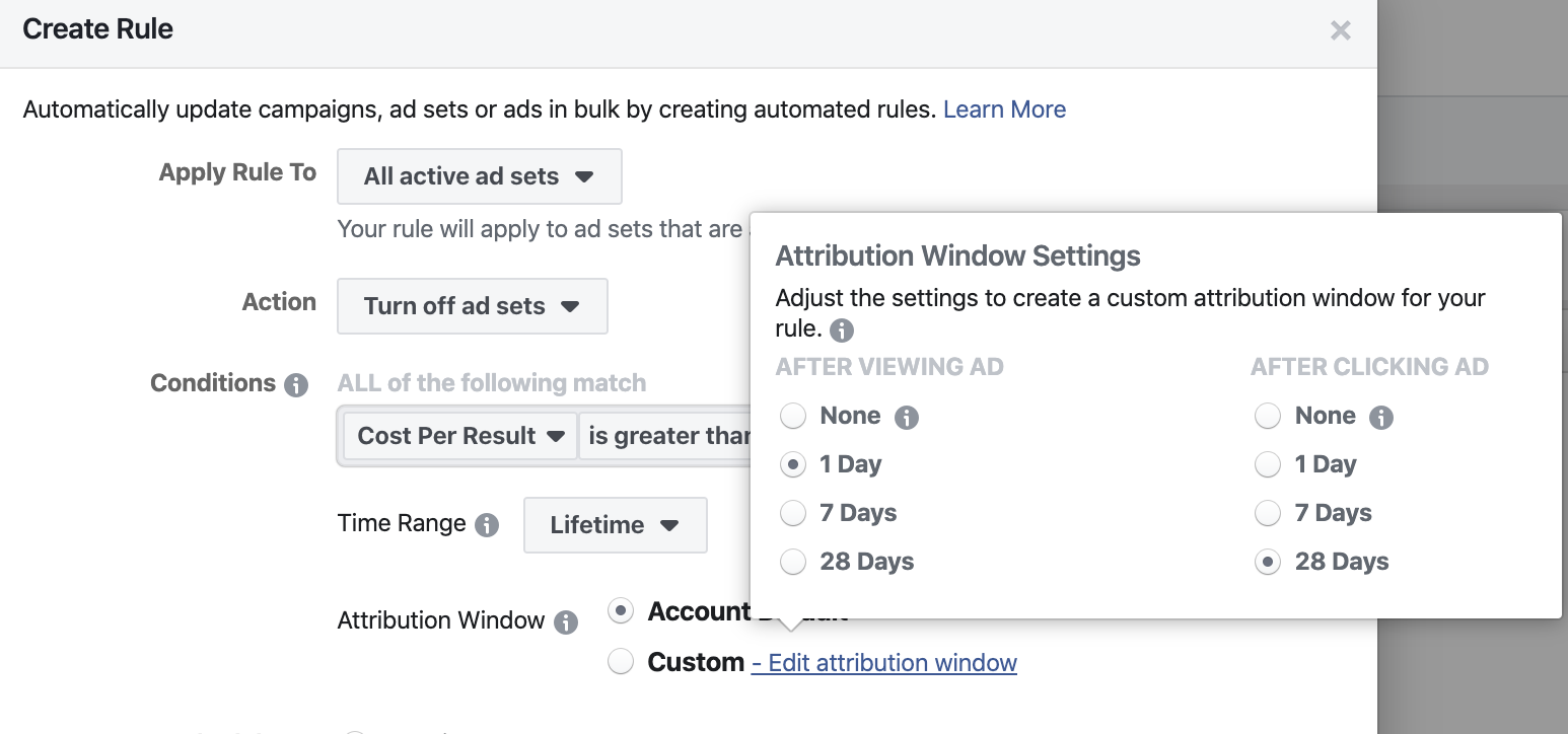 Facebook ad rules attribution guide