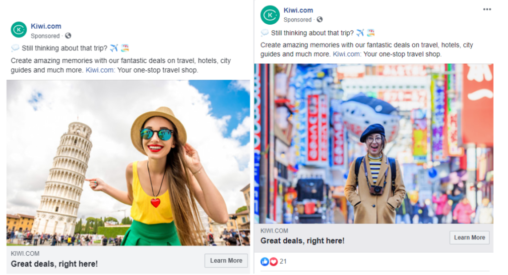 Facebook advertising for conversational commerce 20
