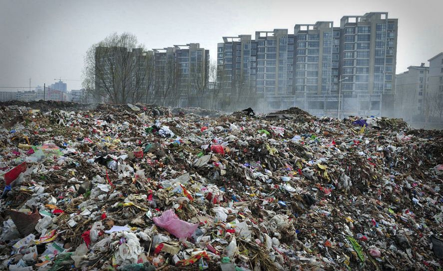 Image result for china garbage