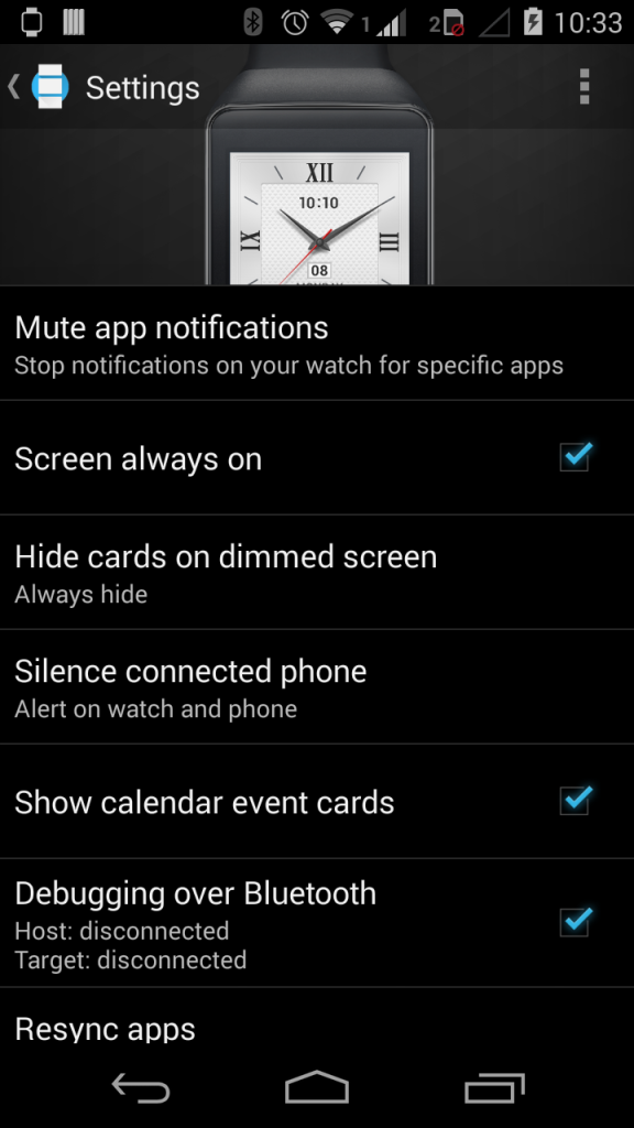 Tutorial : Cast your Android Wear Screen To All - Romin