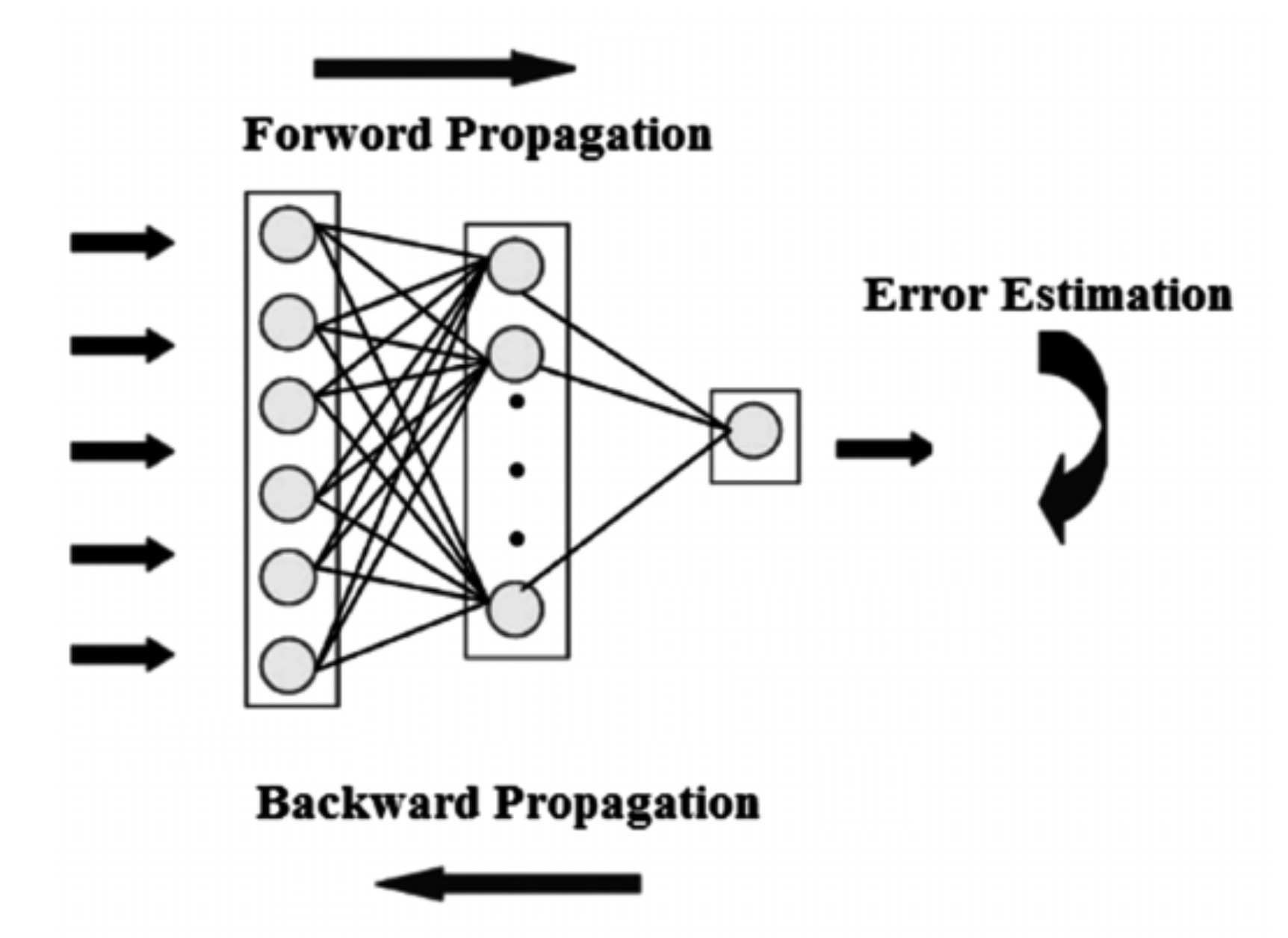 Image result for feed forward backpropagation neural network