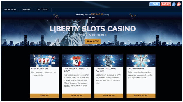 Liberty Casino Mobile Login