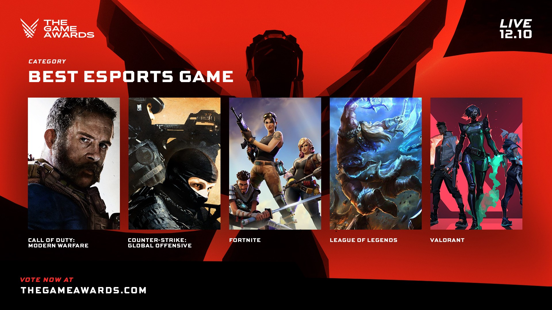 Best esports game at The Game Awards
