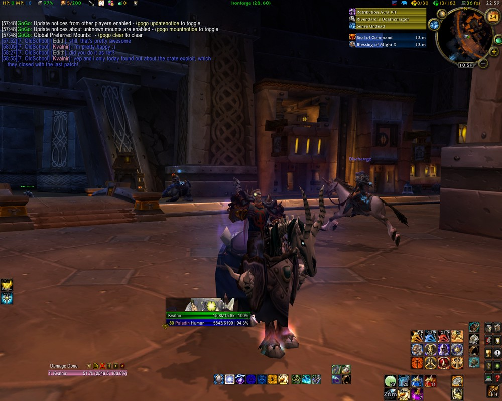 Finally Deathcharger's Reins! #WoW - It's A Muse Thing