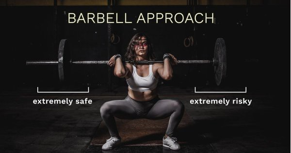 barbell-approach-investing-method-strategy-extreme-risk-safety