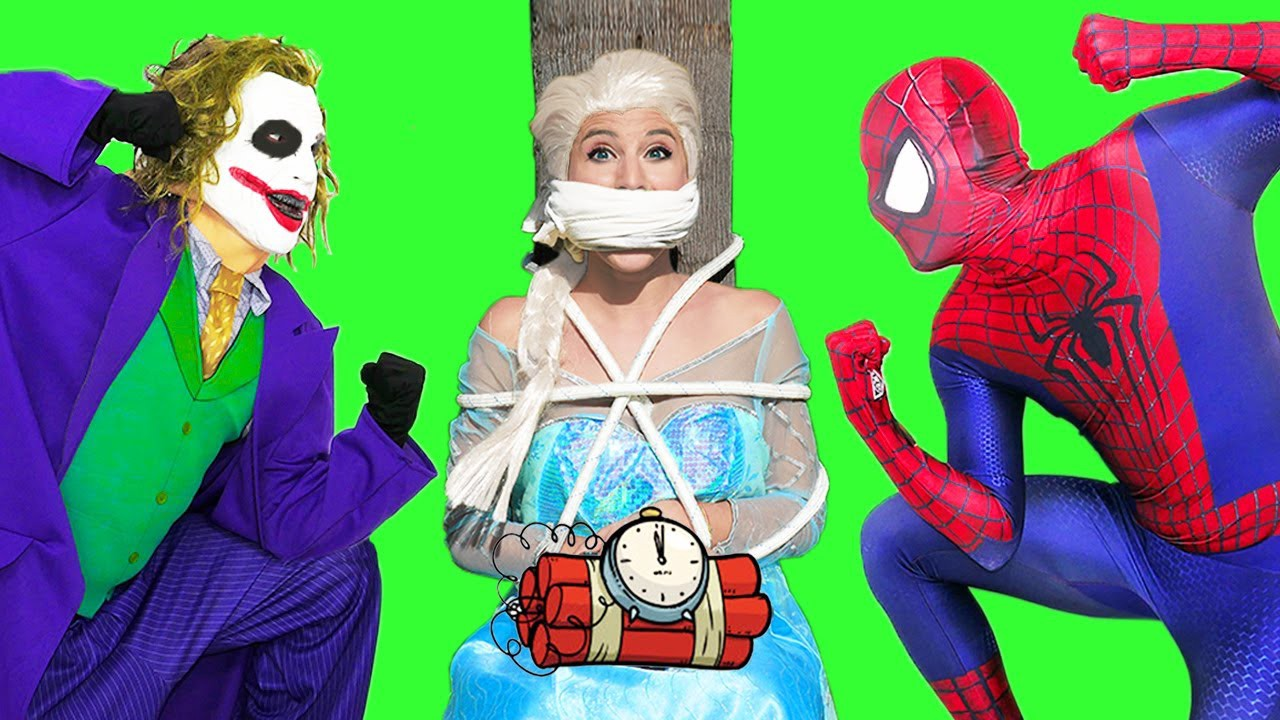 Spiderman Vs Frozen Elsa Their Son Was Kidnapped Joker Super Hero Real Life Youtube By Jason Hiep Medium