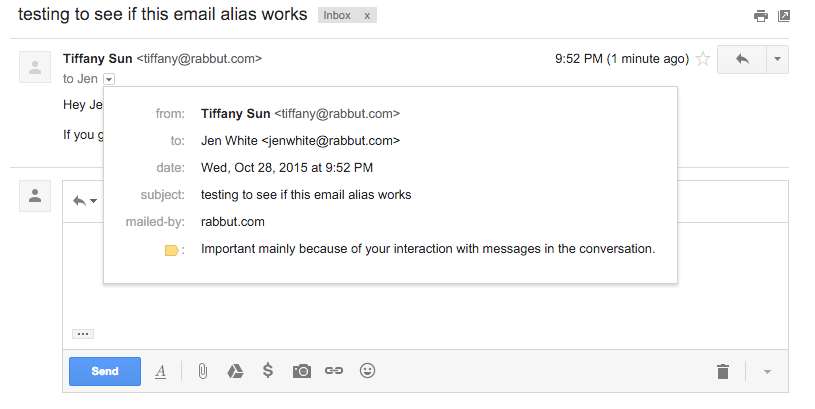 How to hide your true identity (your real email address