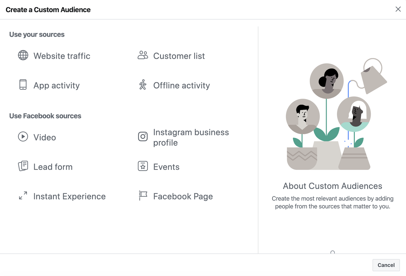Facebook advertising for conversational commerce 2