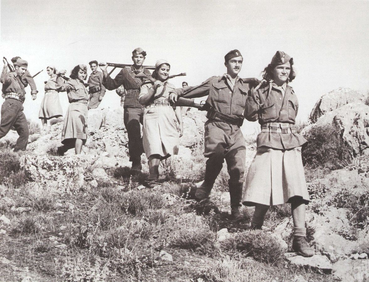 Yugoslav supported Greek guerrillas. Greek Ministry of Foreign Affairs photo