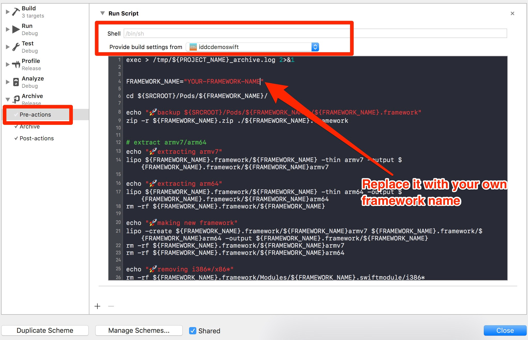 How to upload an App with universal framework to AppStore?