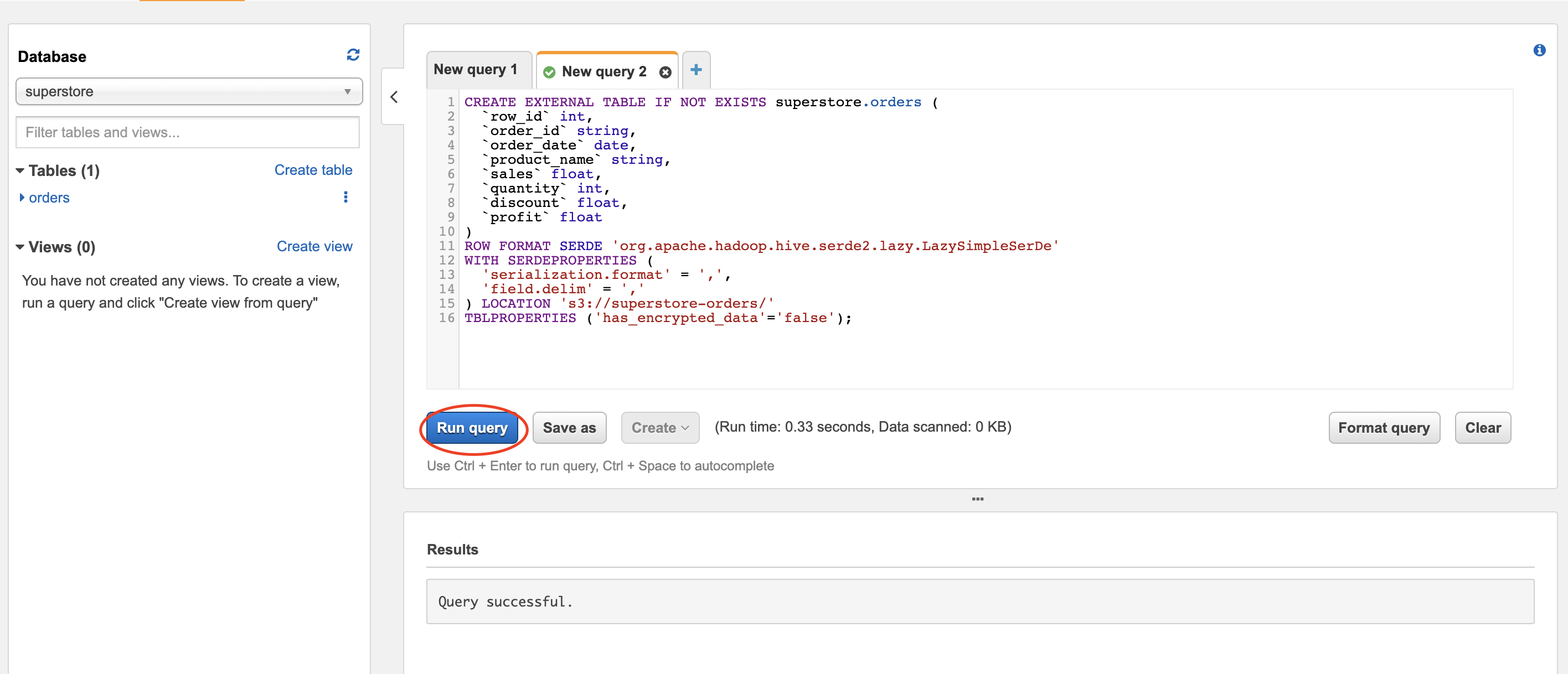 AWS Athena: Interactive Queries in Browser (Part 1)