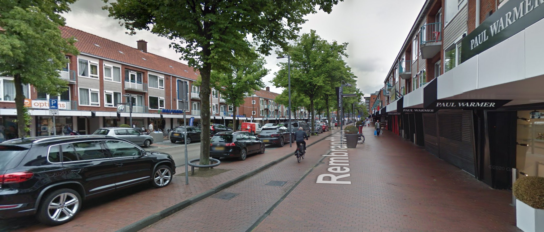 In the Netherlands bike lanes are isolated from main traffic by parked cars.