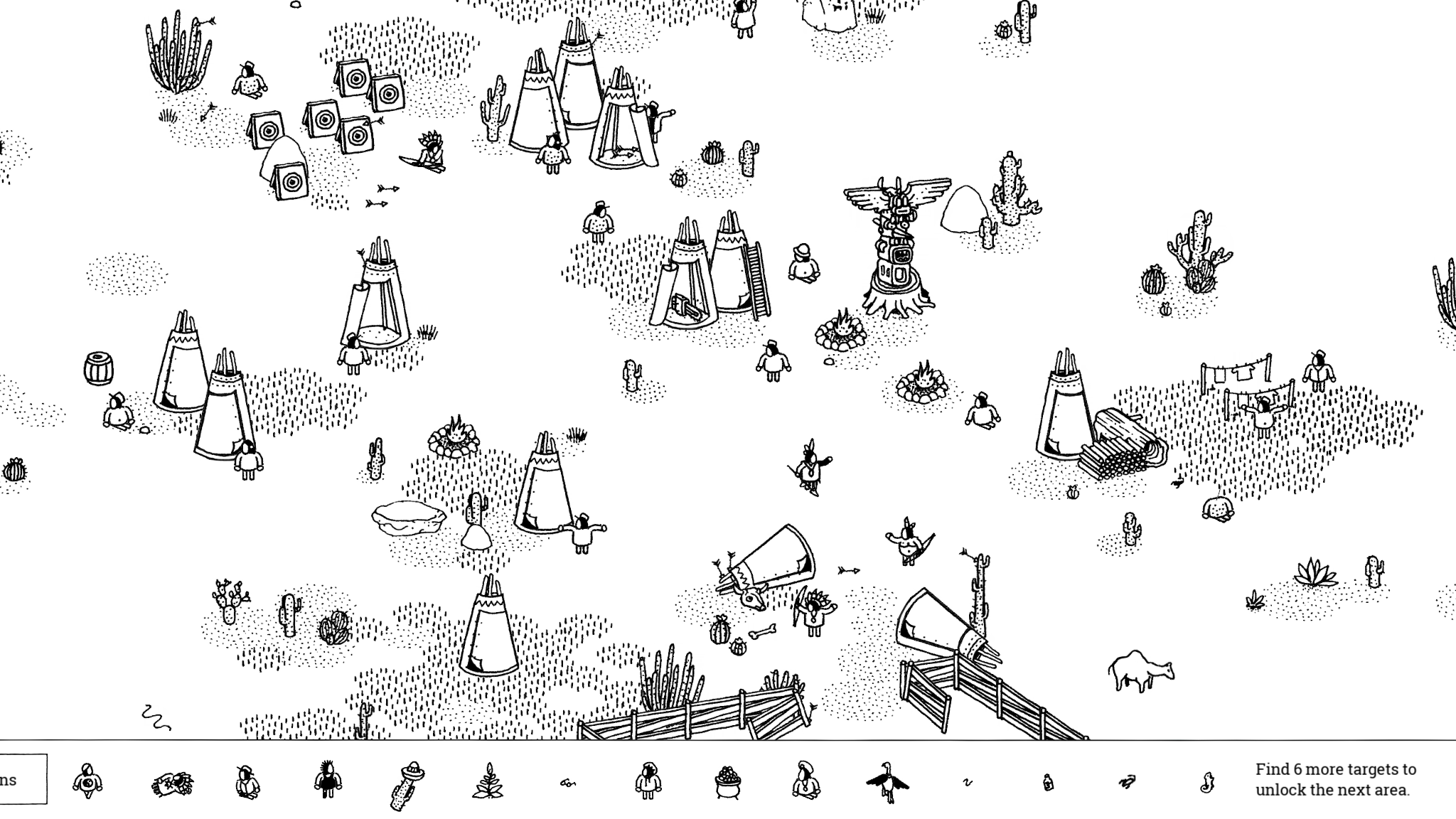Players need to find all kinds of targets from hidden folks to tiny objects.