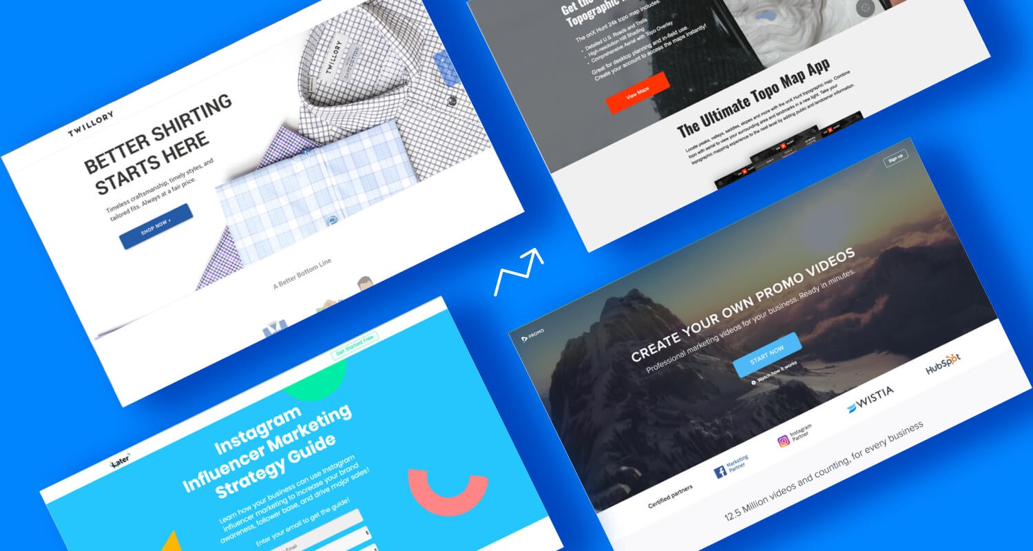 12 High Converting Landing Pages That Ll Make You Wish You Built Em By Unbounce The Startup Medium