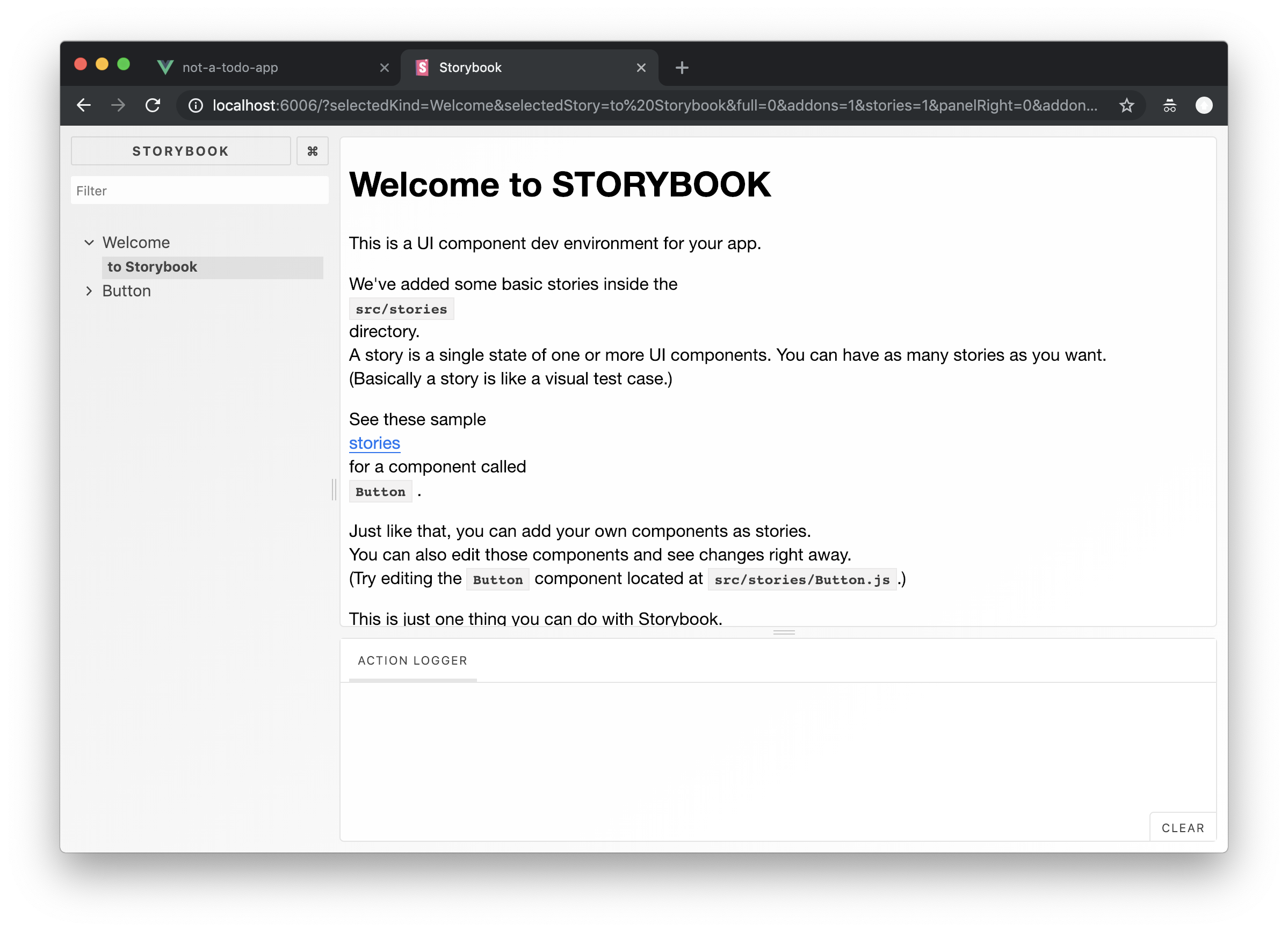 Vue, Storybook, TypeScript — starting a new project with the