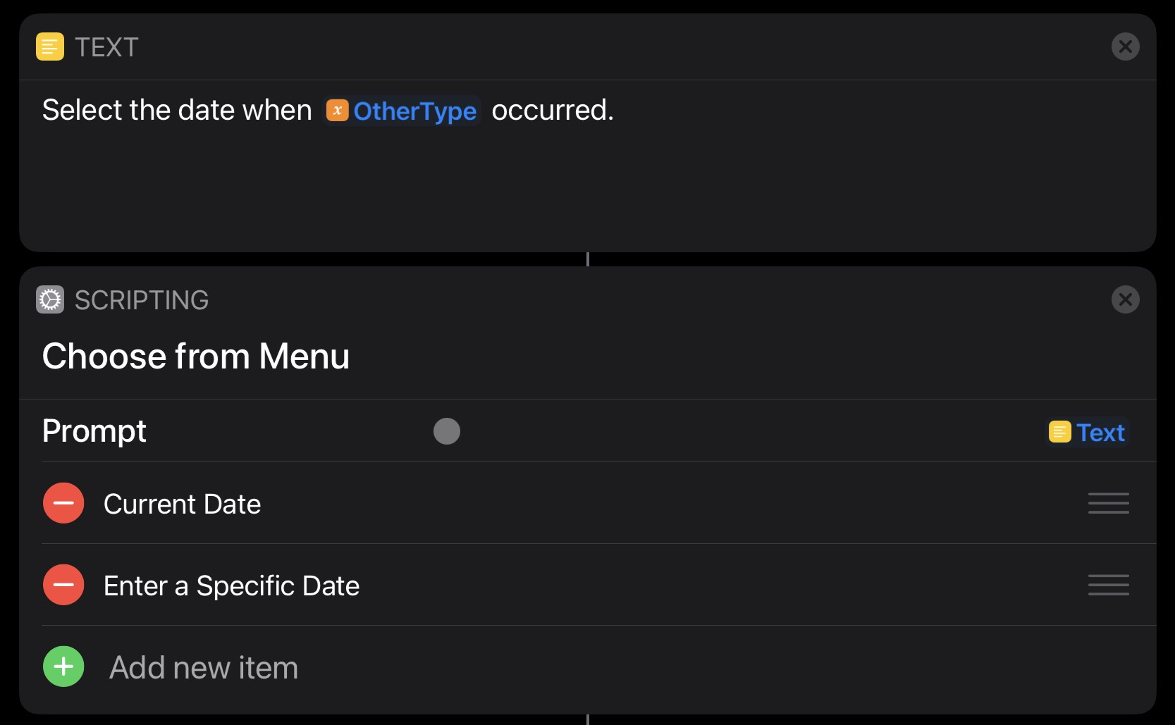 Getting the date from the user