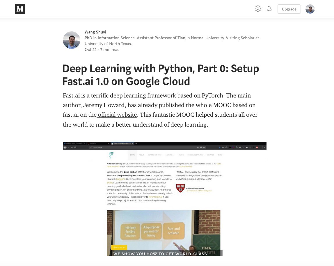 Deep Learning with Python and fast ai, Part 1: Image