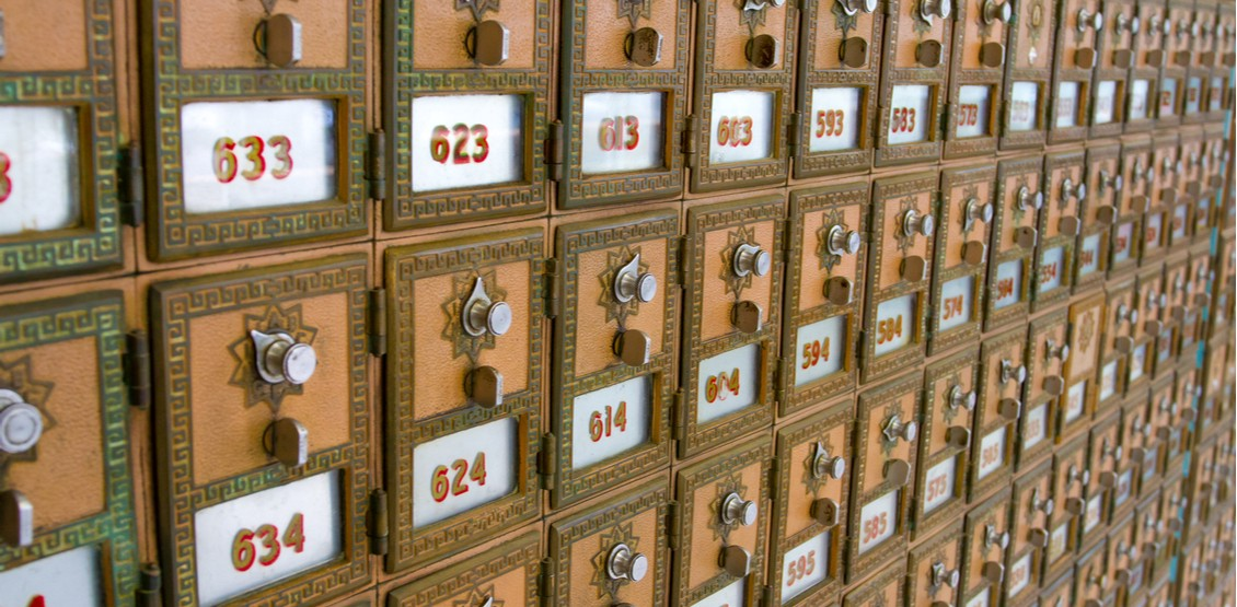 Each memory cell is like a mailbox. There are 90 different mailboxes. Ignore that there are 3-digits on the mailboxes in this example image.