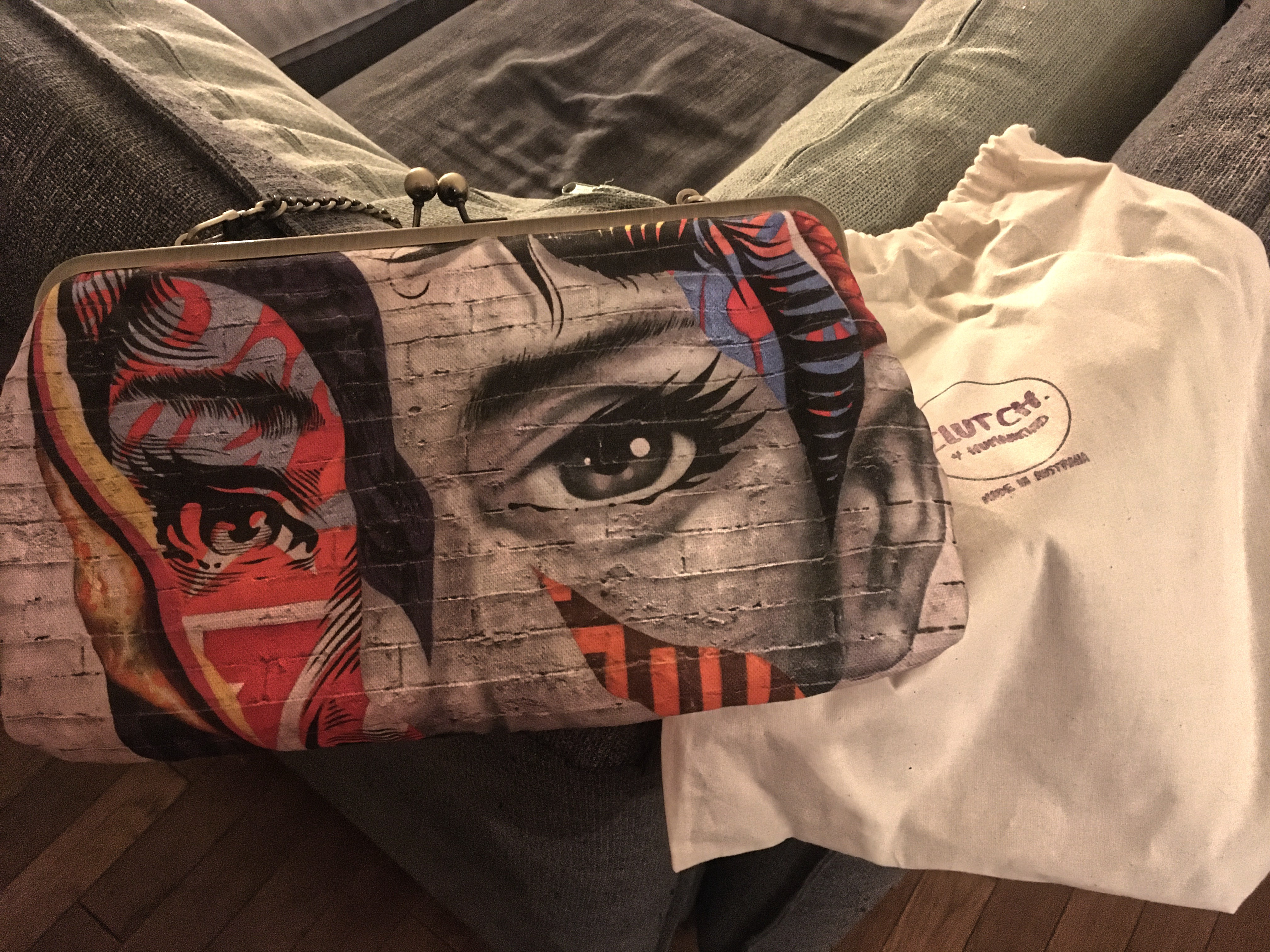 A bag designed by Clutch4HumanKind