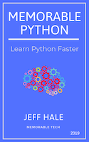 Memorable Python book cover