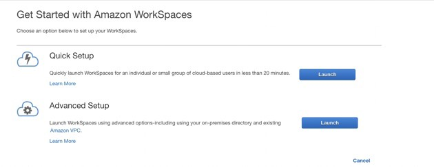 Get Started with Amazon Workspaces