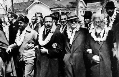 Martin Luther King Jr. and Abraham Joshua Heschel