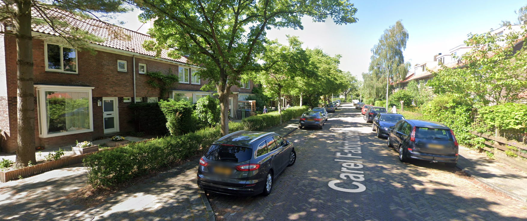 A typical neighborhood in a dutch suburb.