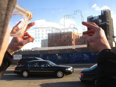 Lynn Maharas and Erik Burke: Pieces of Berlin, 2012. Photo by the artists.