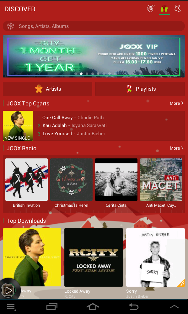 JOOX : The Complete, Free, & Legal Music Streaming Apps