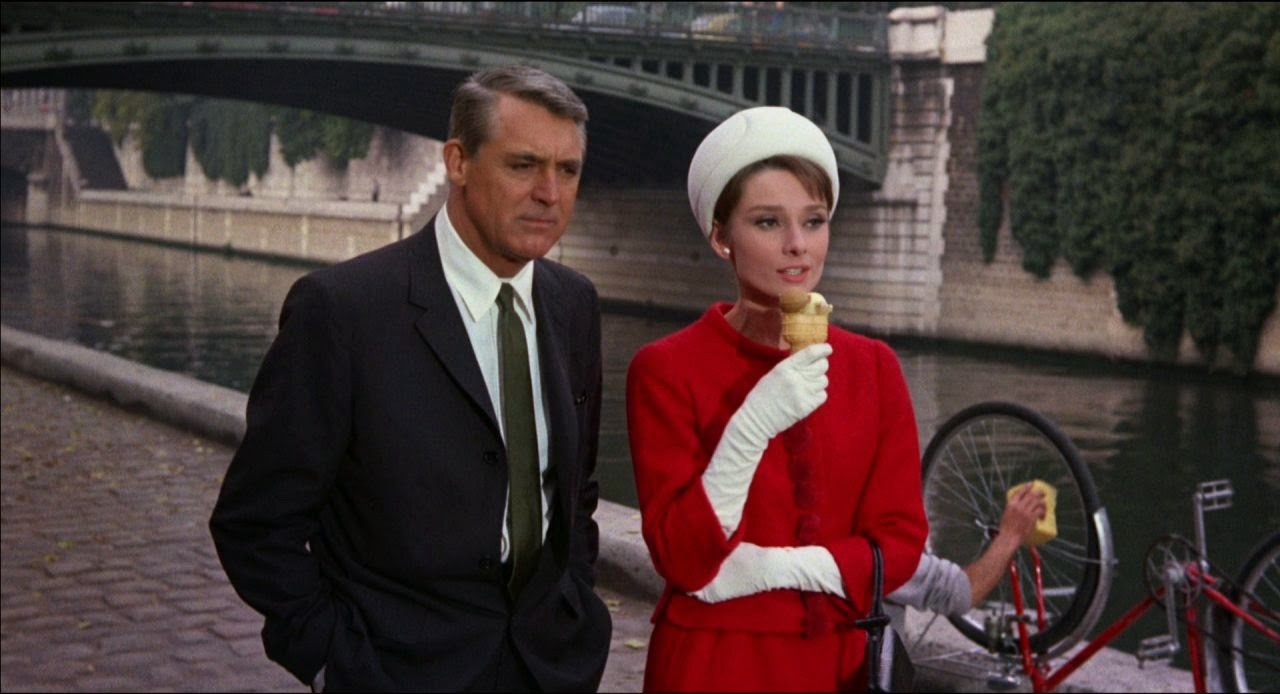 I watched 'Charade' (1963) with a virtual group on Twitter. This ...