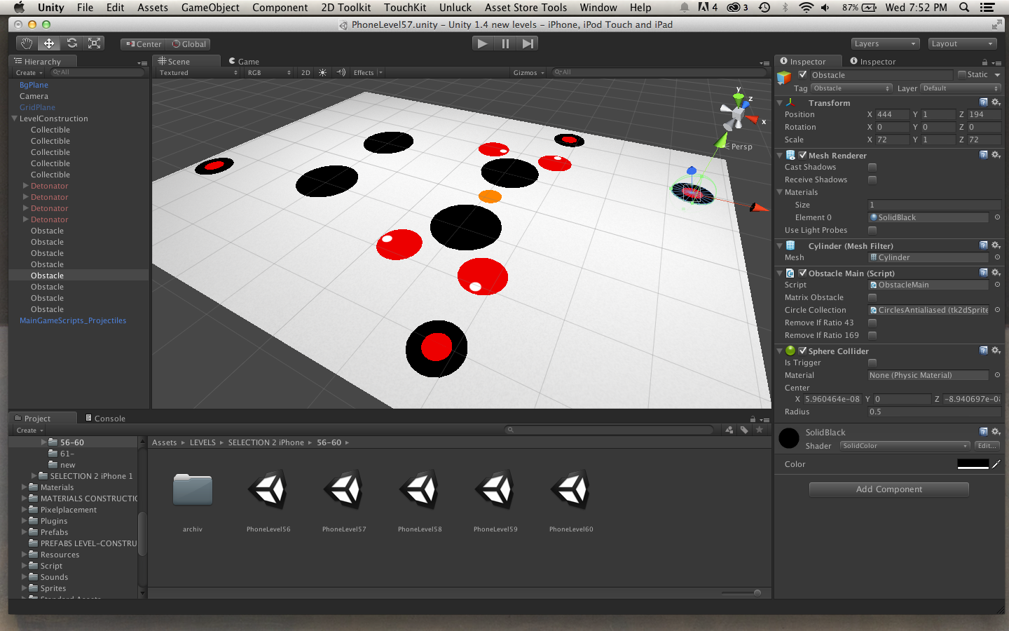 Blek is developed with the popular game engine Unity