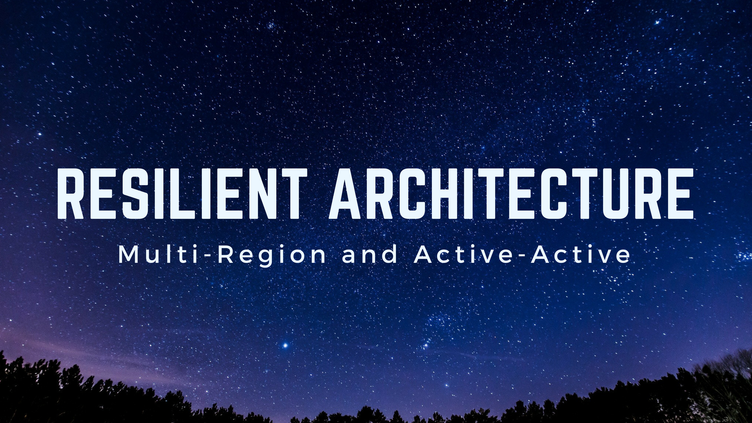 How to build a multi-region active-active architecture on AWS