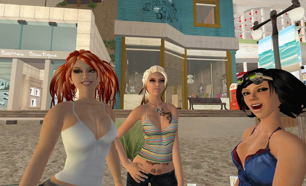 Second Life, Image: Linden Labs