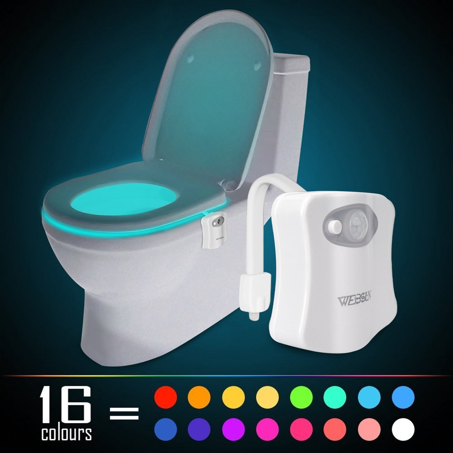 A Glow in the Dark Toilet Seat!?. It's the small things in life