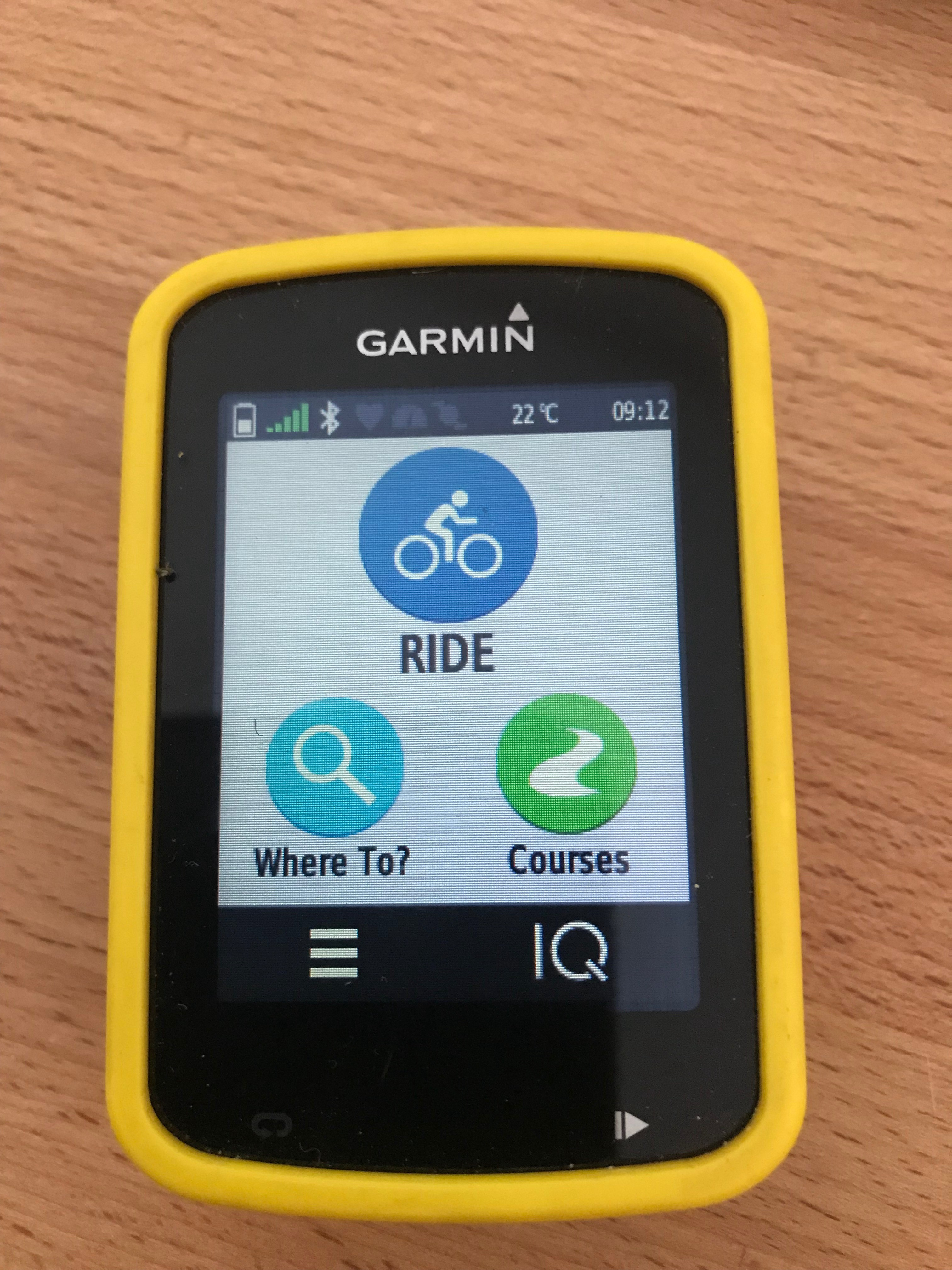 Uploading GPX track files onto the Garmin 820 from a Mac and
