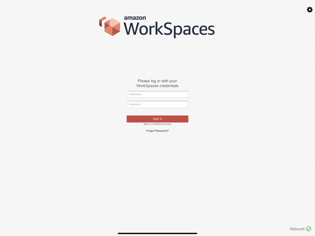 amazon Workspaces Login