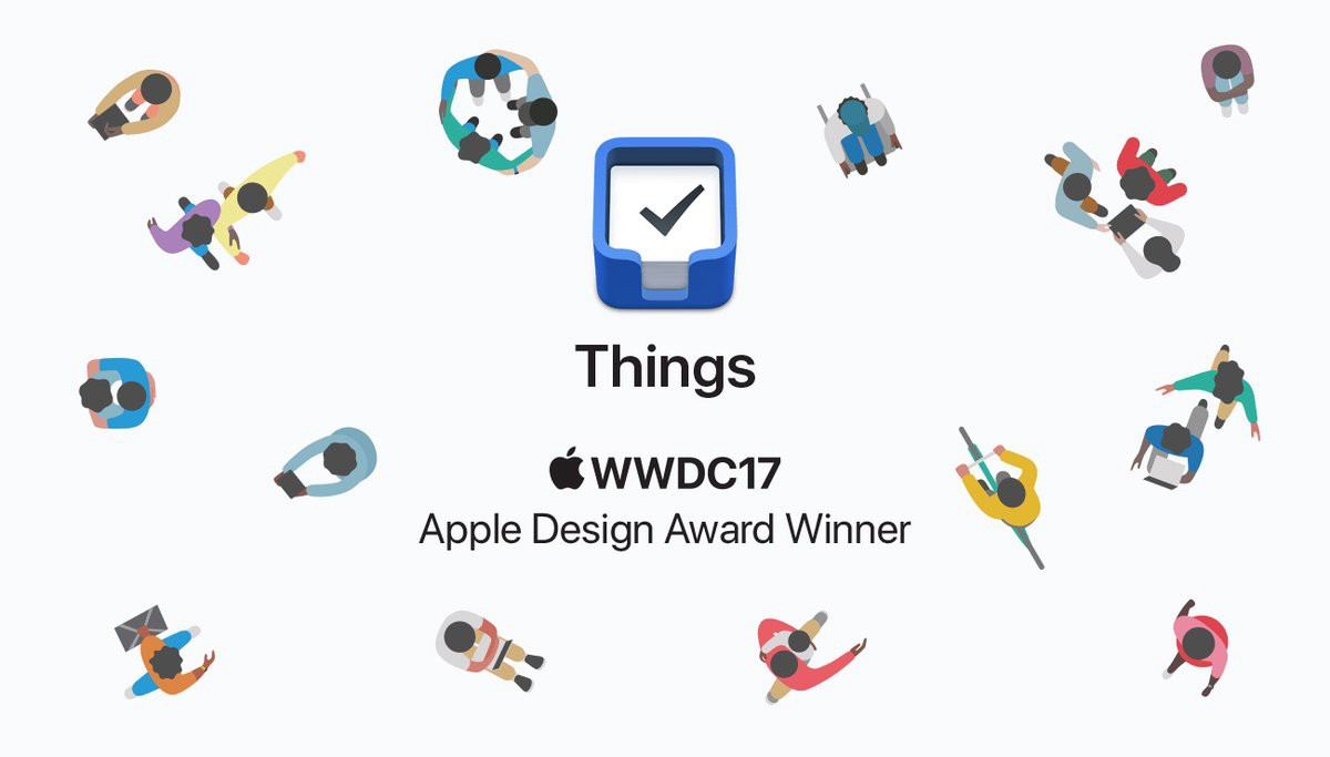 Things3 ha sido lanzada en Mayo 2.017. Ganadora de un Apple Design Award.