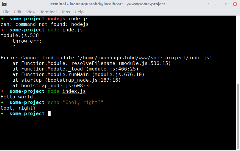 Your terminal can be much, much more productive - Ivan